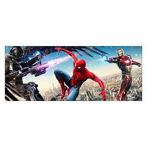 Spider-man. Размер: 150 х 60 см